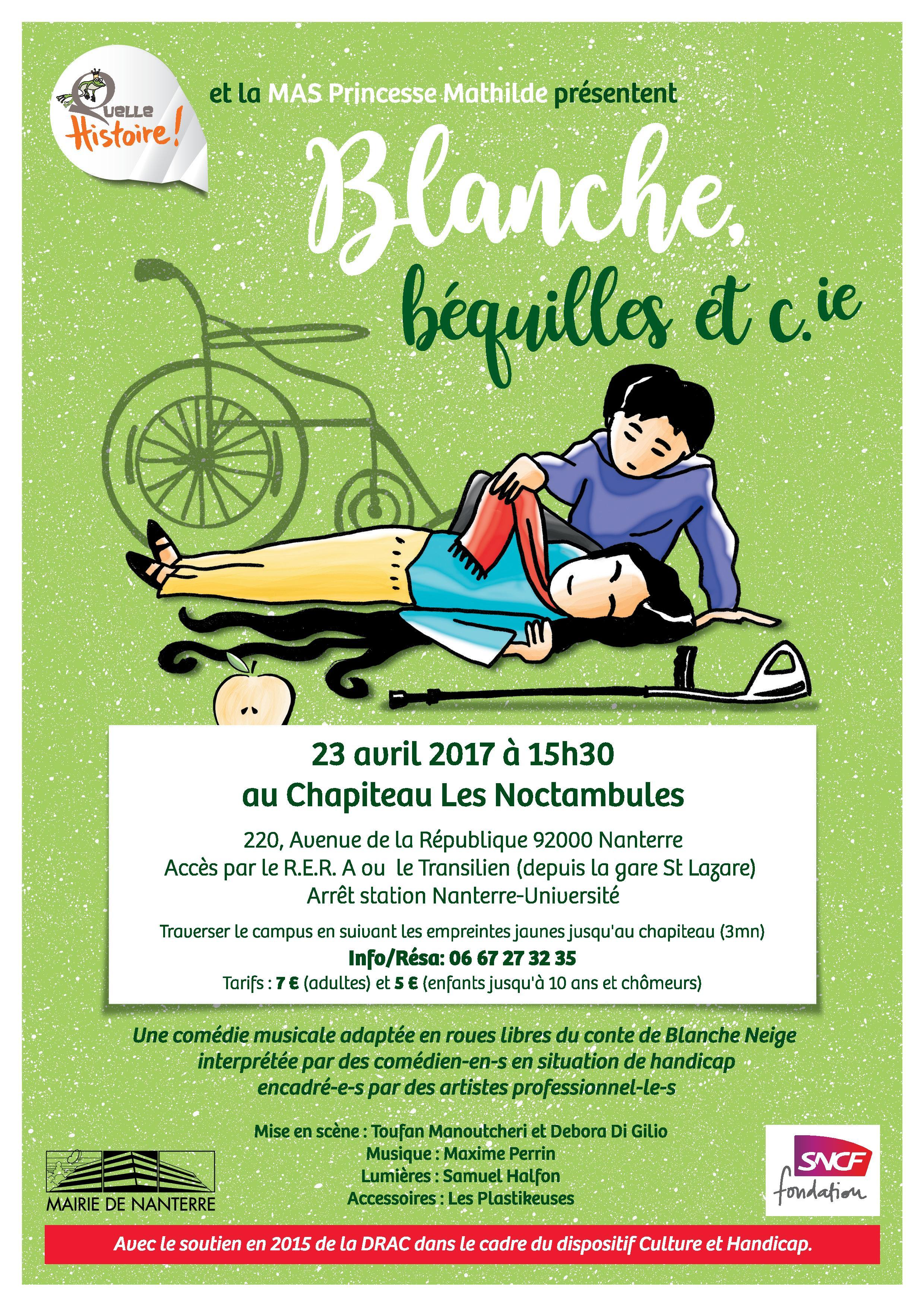 Blanche, Béquilles Et C.ie