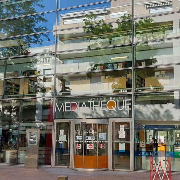 La médiathèque Jacques Baumel à Rueil-Malmaison