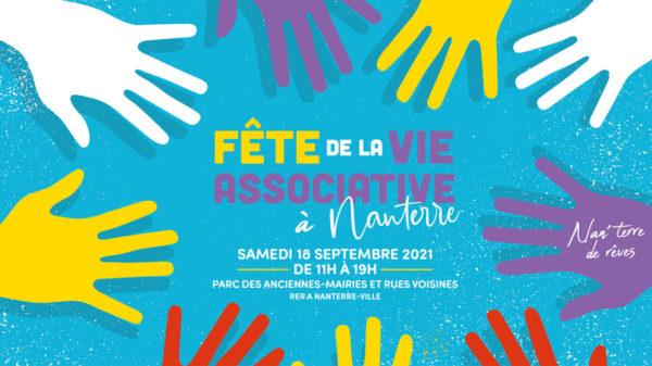 La Fête de la vie associative à Nanterre, c'est le 18 septembre 2021 !